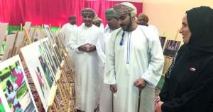 نادي السيب يقيم معرضا للمصور محمود الجابري