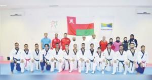 اليوم اختتام منافسات بطولة عمان للتايكوندو بعد منافسات مثيرة وقوية