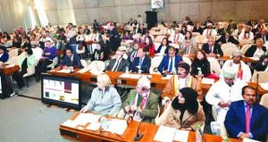"""جمعية الصحفيين تفتتح ملتقى الصحافة العمانية الأوروبية بالدعوة """"لتعزيز التعاون والتقارب"""""""