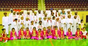 الشؤون الرياضية بشمال الباطنة تحتفل بالعيد الوطني الثامن والأربعين المجيد