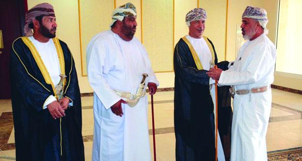 الولاة يواصلون استقبال المهنئين بالعيد الوطني المجيد