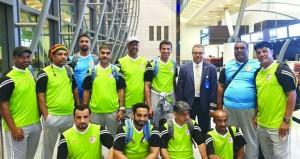 فريق عمان لقدامي اللاعبين يشارك في بطولة تايلاند الدولية