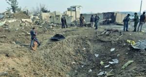 10 قتلى بهجوم على مجمع أمني بريطاني في أفغانستان