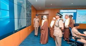 افتتاح قيادة شرطة محافظة الوسطى وتخريج عدد من فصائل الشرطة المستجدين
