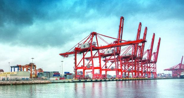 18.7% نموا بمناولة الحاويات في ميناء صلالة