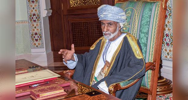 جلالة السلطان يتلقى برقية تهنئة من نائب رئيس الوزراء لشؤون مجلس الوزراء