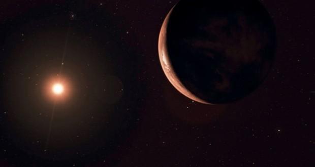 رصد كوكب متجمد يدور في فلك نجم قريب من المجموعة الشمسية