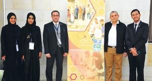 جامعة نـزوى تحصد المركز الثاني بمحور الإبداع الفني في ملتقى طلابي بالأردن