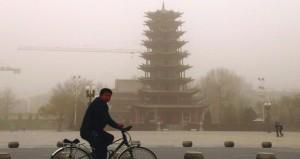 إصدار تحذير برتقالي للضباب الكثيف بالصين