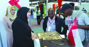 المؤسسات الصغيرة والمتوسطة تجذب زوار معرض المنتجات العمانية بنيروبي