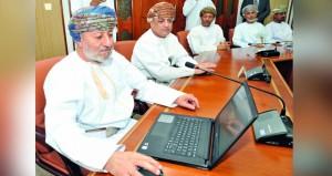 تدشين نظام المراسلات الالكترونية بمكتب وزير الدولة ومحافظ ظفار