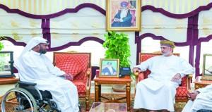 وزير التنمية الاجتماعية يلتقي بالرحالة القطري محمد الهاجري