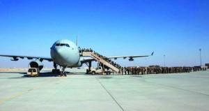 وحدات القوات المسلحة البريطانية المشاركة في (السيف السريع/3) تواصل مغادرة السلطنة