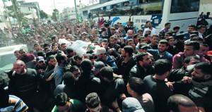 غزة تودع شهداءها «السبعة» والاحتلال يصف عدوانه بالعملية «المعقدة»