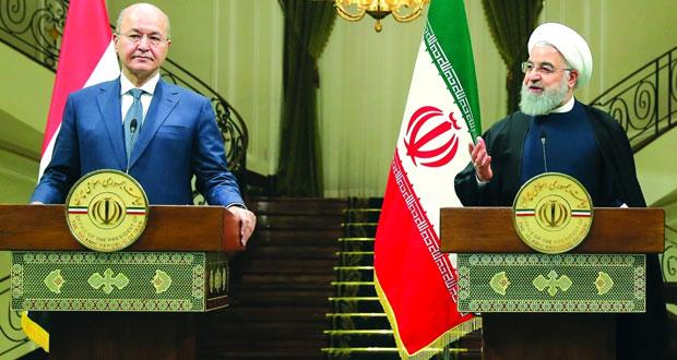 العراق وإيران يؤكدان أهمية تطوير العلاقات وتوطيدها