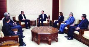 سوريا تؤكد أنه لا مكان للدول المعادية في إعادة الإعمار