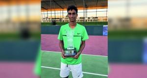 عبدالله البرواني يحصد لقب بطولة البحرين الدولية للتنس