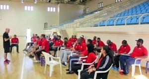 اليوم.. انطلاق أعمال دورة الدراسات الدولية لمدربي كرة السلة بمشاركة 25 مدربا ومدربة
