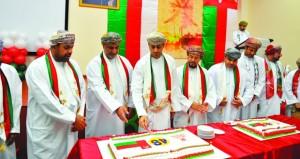 وزارة الشؤون الرياضية تحتفل بالعيد الوطني الثامن والأربعين المجيد