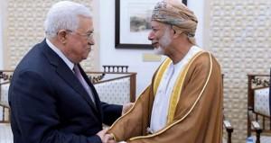 رسالة من جلالة السلطان إلى الرئيس الفلسطيني