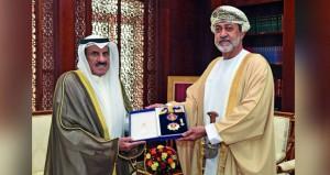 وسام النعمان من الدرجة الأولى لسفير الكويت