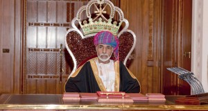 برقيتا شكر لجلالة السلطان