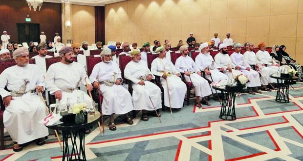 """الأوقاف والشئون الدينية تدشن قافلة """"كلنا عمان"""" لتعزيز روح الوحدة الوطنية والتأكيد على أهميتها"""