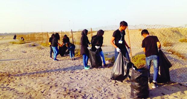 حملات نظافة موسعة تنفذها بلدية المصنعة