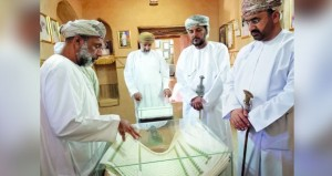 افتتاح المعرض التعريفي بمراحل ترميم جامع الشيخ أبي سعيد الكدمي