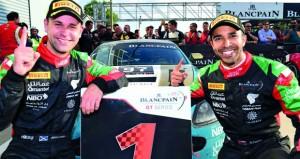 فريق عمان لسباقات السيارات يبدأ اليوم مشاركته في سباق الخليج 12 ساعة بأبوظبي