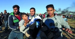 مواجهات بين الفلسطينيين والاحتلال في غزة .. واعتقالات بالضفة