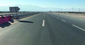 افتتاح جزء من ازدواجية طريق بركاء ـ نخل بطول 14 كيلومترا