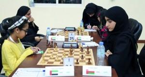 منتخبنا الوطني النسائي للشطرنج يحقق نتائج متقدمة في بطولة كأس الشارقة الدولية