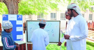 مدارس تعليمية الوسطى تحتفل باليوم العالمي للغة العربية