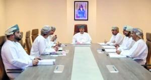 """مجلس إدارة هيئة التعدين يستعرض """"استراتيجية عمان للتعدين"""" ومخرجات مشروع فرز الطلبات"""