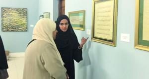 """""""الفنون الإسلامية"""" تحتفي بـ 262 عملا في ساحة الخط ومشاركة عمانية في """"خطاطات الخليج"""""""