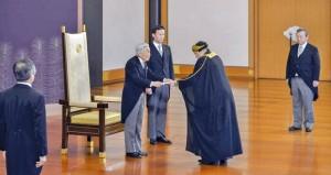 سفير السلطنة لدى اليابان يقدم أوراق اعتماده