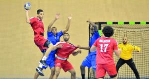 نادي عمان يواصل صدارته للدوري واليوم إقامة خمسة لقاءات مثيرة في دوري اليد