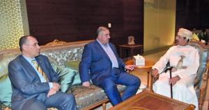 رئيس هيئة الأركان المشتركة للقوات المسلحة بالمملكة الأردنية الهاشمية يغـــادر السلطنــــــة
