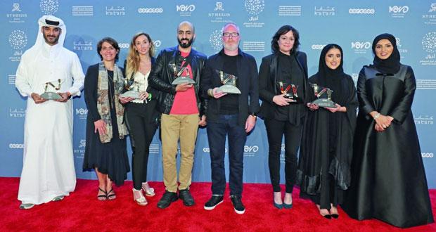"""""""أجيال السينمائي"""" السادس يحتفي بالفائزين ويمنح جائزة تقديرية لكايلاش ساتيارثي الحائز على """"نوبل للسلام"""""""