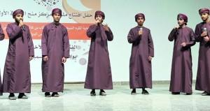 أمسية إنشادية ومعارض ودورات تدريبية وعلمية في ختام فعاليات ملتقى منح الثقافي الأول