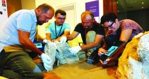 المتحف الوطني يضيف تكوينات حجرية ثلاثية يبلغ عمرها 2000 عام