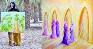 معرض فني يقدم جمال الحياة الثقافية والاجتماعية للمرأة العربية بمسقط