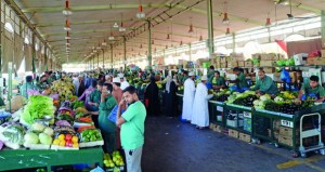تراجع أسعار الخضروات بالسوق المركزي ومطالبة بضبط حركة السوق ودعم المزارعين