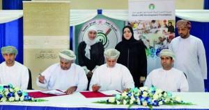 (التربية والتعليم) توقع اتفاقية تجهيز مدارس التربية الخاصة بأجهزة الأمن والسلامة