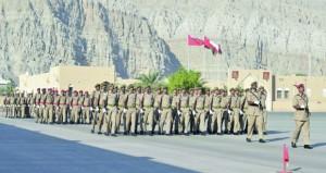 قيادة قطاع مسندم بالجيش السلطاني العماني تحتفل بيوم القوات المسلحة