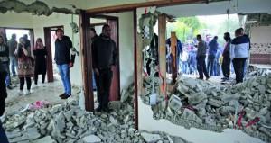 الاحتلال يهدم منزل عائلة الشهيد نعالوة ويطرد عائلات فلسطينية بالأغوار