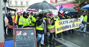 فرنسا: احتجاجات (السترات الصفراء) تتجدد .. وسط استنفار أمني