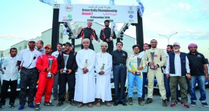 الرواحي يخطف الجولة الثانية من بطولة عُمان للراليات والعوفي وصيفا والراشدي في المركز الثالث