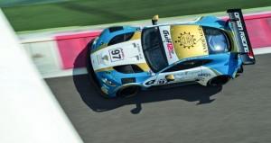 فريق عمان للسيارات يحل ثالثا في جولة التأهيل بسباق الخليج 12 ساعة